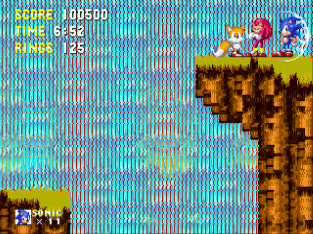 Sonic the Hedgehog 3 - Misc heroes - SONIC HEROES! - User Screenshot